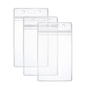 Id Badge Card Holder - Double Side